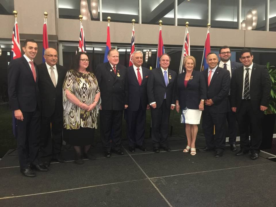 Australian Politicians Honoured by NKR at ANC Australia's Annual Gala